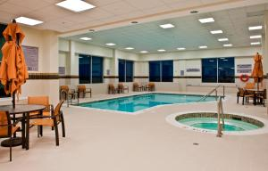 The swimming pool at or near Courtyard by Marriott Ottawa East