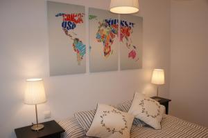 Una habitación en Apartamento Calle Paz
