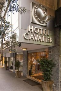 المظهر الخارجي أو مدخل فندق كافلير