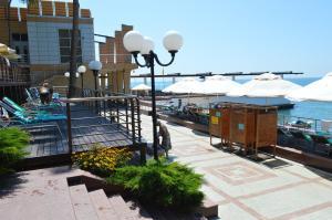Патио или другая зона на открытом воздухе в Apartments na Vinogradnaya