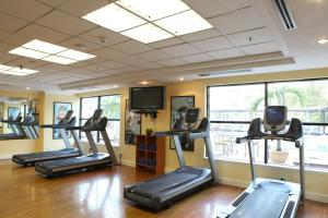 The fitness centre and/or fitness facilities at Hilton Hanoi Opera