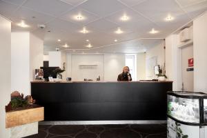 Lobbyen eller receptionen på Milling Hotel Gestus