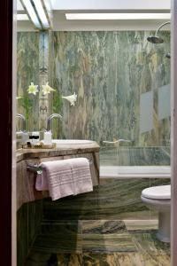 Salle de bains dans l'établissement Pousada Castelo de Estremoz