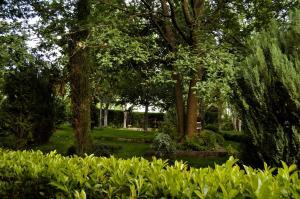 A garden outside Pazo de Monterrei