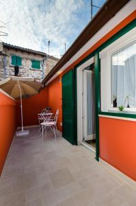 A porch or other outdoor area at Casa Matteotti