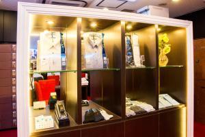 The lobby or reception area at Spa & Capsule Hotel GrandPark-Inn Sugamo