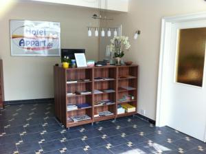 Lobby/Rezeption in der Unterkunft Hotel Appart