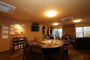 ゲストハウス桜花にあるレストランまたは飲食店