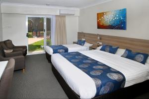 A room at Aston Motel Yamba