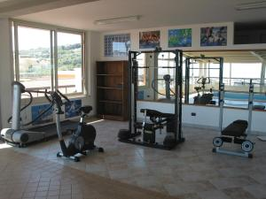 The fitness center and/or fitness facilities at Hotel President