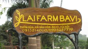 Chứng chỉ, giải thưởng, bảng hiệu hoặc các tài liệu khác trưng bày tại Lai Farm Ba Vi