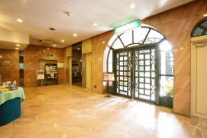 The lobby or reception area at Sun Members Kobe