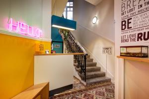 The lobby or reception area at Colors Ladadika Thessaloniki