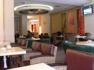 The lounge or bar area at Hotel Park Ivanjica