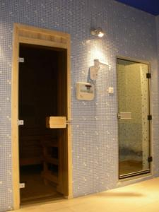 A bathroom at Hotel Park Ivanjica