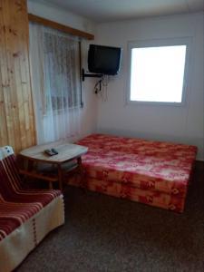 TV a/nebo společenská místnost v ubytování Kemp Horní Bečva
