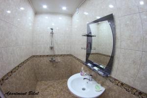 Um banheiro em Apartment Bilal
