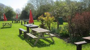 A garden outside Turfcutters Arms
