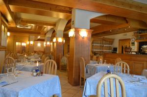 A restaurant or other place to eat at Hotel Giardino