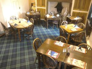 A restaurant or other place to eat at The Foresters Arms