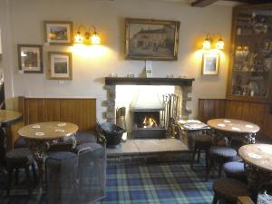 The lounge or bar area at The Foresters Arms
