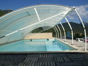 The swimming pool at or near Beautiful Holiday Home in Marignac-en-Diois with Pool
