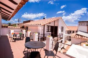 Balcone o terrazza di Hostal CasArte Takubamba