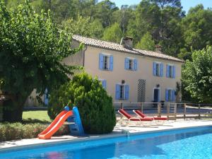 The swimming pool at or near Modern Villa in Lorgues with Private Pool