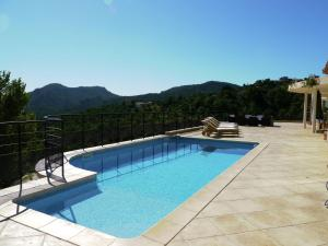 The swimming pool at or near Luxury Villa in Les Adrets-de-l'Esterel With Swimming Pool
