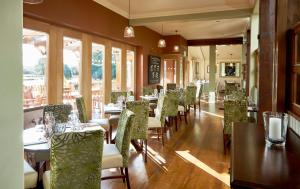 A restaurant or other place to eat at The Golden Pheasant