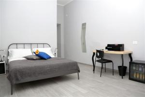 Łóżko lub łóżka w pokoju w obiekcie B&B Pika 48