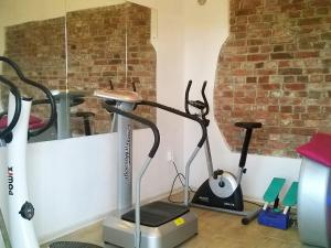 The fitness center and/or fitness facilities at Holiday Home Angelino