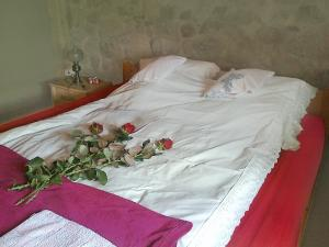 A bed or beds in a room at Holiday Home Angelino