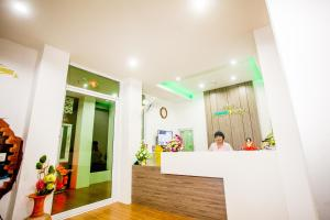 The lobby or reception area at Namthip Residence