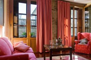 Zona de estar de Hotel Rua Villar