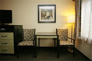 A television and/or entertainment center at Baymont by Wyndham Dale