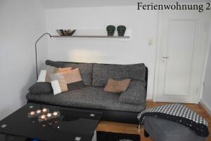 Ein Sitzbereich in der Unterkunft Ferienwohnung Janssen Herborn