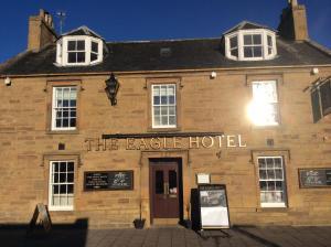 The facade or entrance of Eagle Hotel