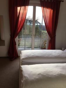 Ein Zimmer in der Unterkunft B&B Pension Marina