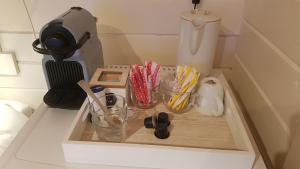 A kitchen or kitchenette at Studio QuaAmsterdam