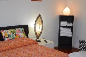 Letto o letti in una camera di B&B A Casa di Andrea