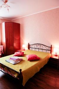 A bed or beds in a room at Apartment Lenina 3kA