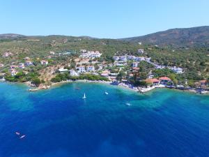 A bird's-eye view of Leda Village Resort