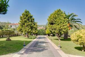 A garden outside Villa Nefeli - Akti Salonikiou A