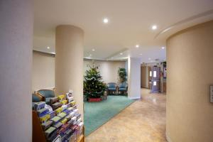 The lobby or reception area at Lillian Penson Hall, University Of London