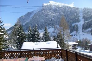 L'établissement Chalet-Hôtel du Borderan en hiver