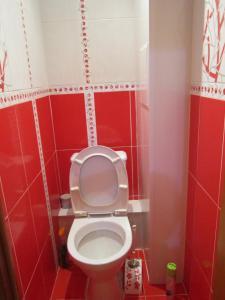 Ванная комната в Апартаменты на Ленинградской 43