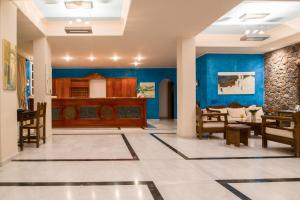 The lobby or reception area at Antinea Suites Hotel & Spa