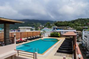 Вид на бассейн в Chana Hotel или окрестностях