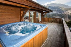 The swimming pool at or near Chalet Jean- Chamonix All Year
